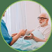 Servicio de asistencia hospitalaria en Salamanca